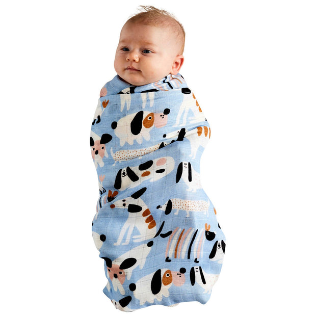 Kip & Co - Sir Fred Bamboo Baby Swaddle