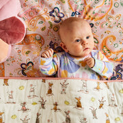 Kip & Co - Mousing Around Quilted Cot Bedspread