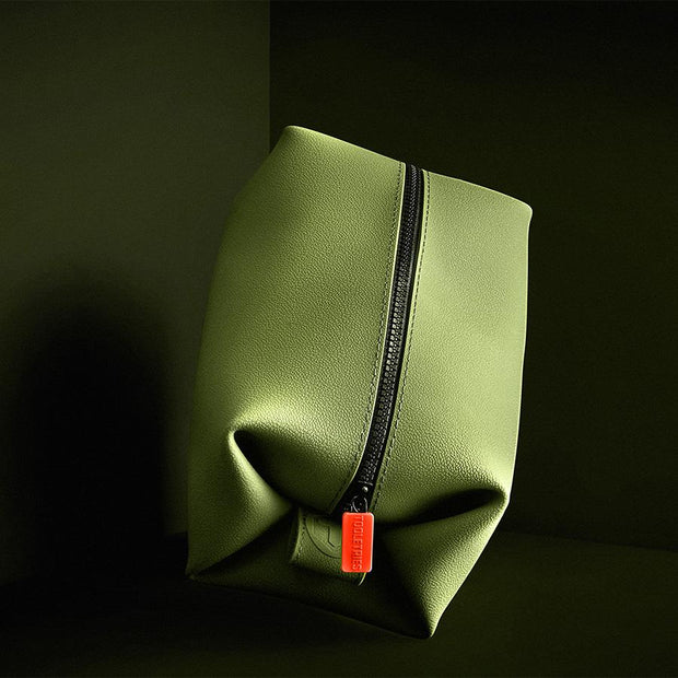 Tooletries - The Koby - Large Toiletries Bag - Green