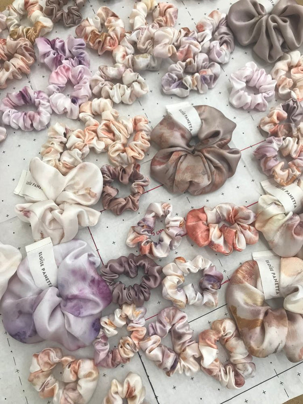 Eloise Panetta - Large Silk Scrunchies