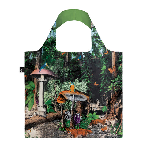 LOQI - Shopping Bag: Black Forest