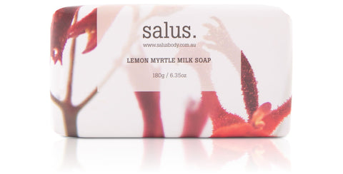 Salus - Lemon Myrtle Milk Soap