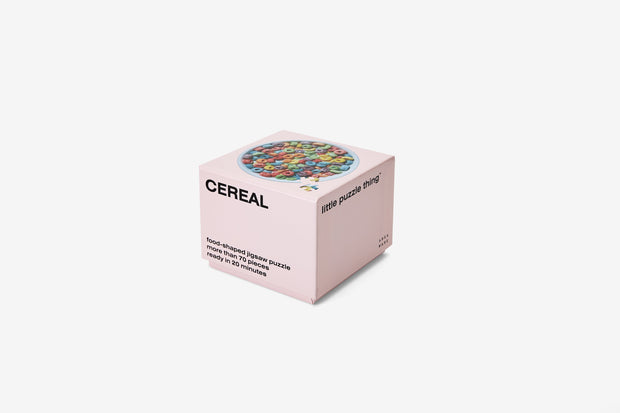 Areaware - Little Puzzle Thing: Cereal