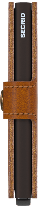 Secrid Miniwallet - Original Cognac-Brown