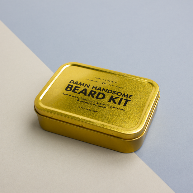 Men's Society - Damn Handsome Beard Kit