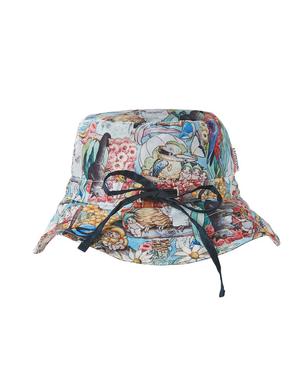 Walnut Melbourne - Storytime May Gibbs Sunny Sun Hat - Medium