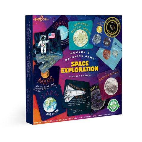 Eeboo - Space Exploration Memory & Matching Game