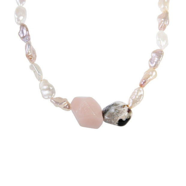 Fairley - Keshi Jasper Sorrento Necklace