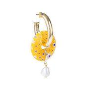 Fairley - Giallo Pearl Hoops