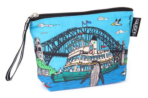Squidinki - Sydney Harbour Cosmetic Bag