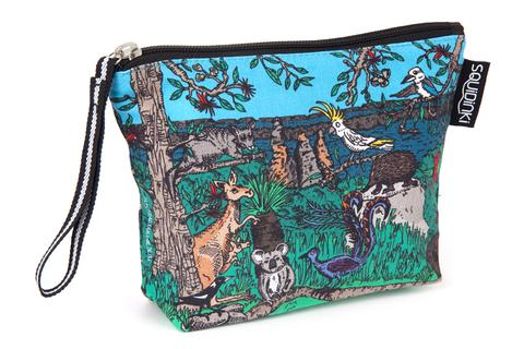 Squidinki Cosmetic Bag - Australian Wildlife