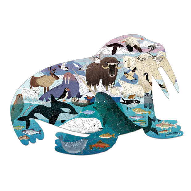 300 Pc Shaped Puzzle – Arctic Life
