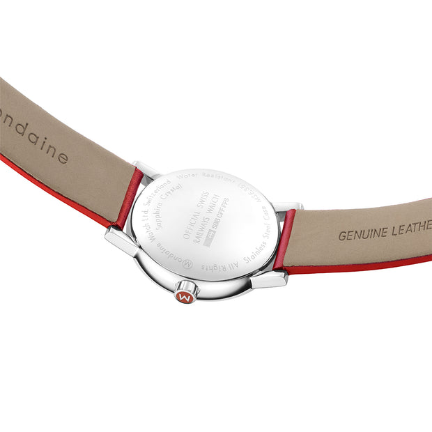 Mondaine Watch - Evo 2 35mm Red Strap - MSE.35110.LC