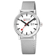 Mondaine Watch - Evo 2 Big 40mm Mesh Strap - MSE.40210.SM