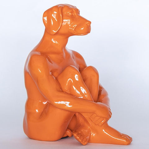 Gillie & Marc Art - Mini Dogman - Orange