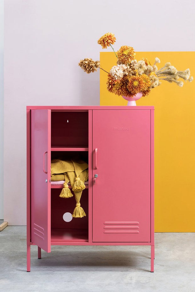 Mustard Made - Midi Locker in Berry