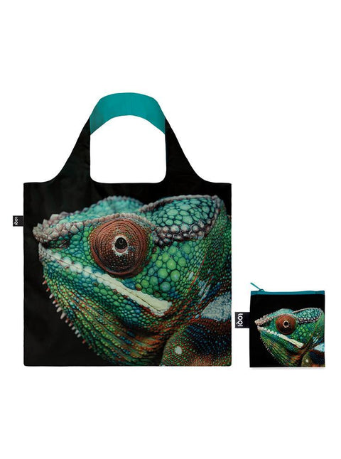 LOQI - Shopping Bag: National Geographic Collection - Panther Chameleon