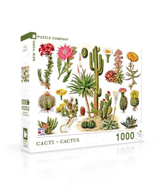 New York Puzzle Company - Cacti 1000 pc