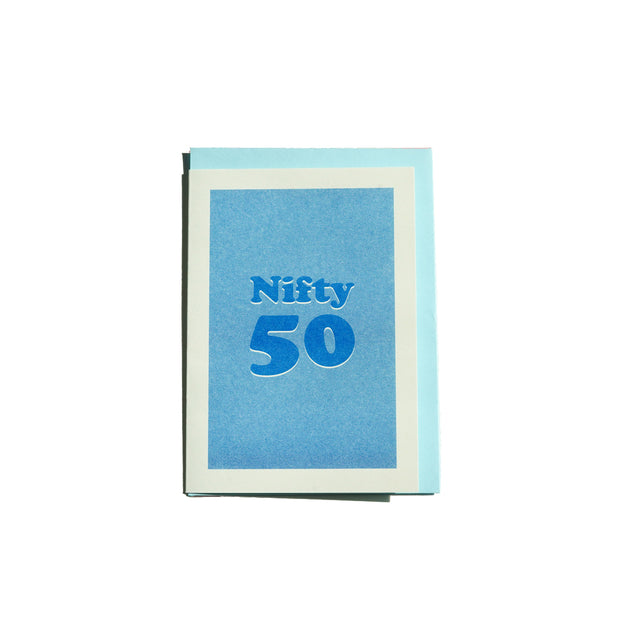 Nifty 50 Card