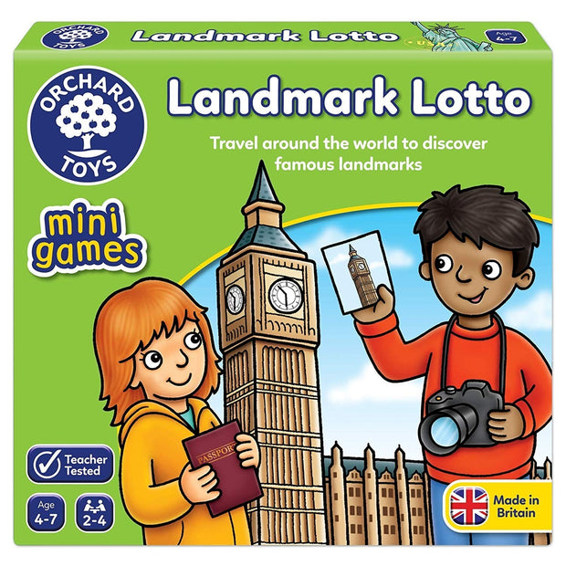 Orchard Game - Mini-Game: Landmark Lotto
