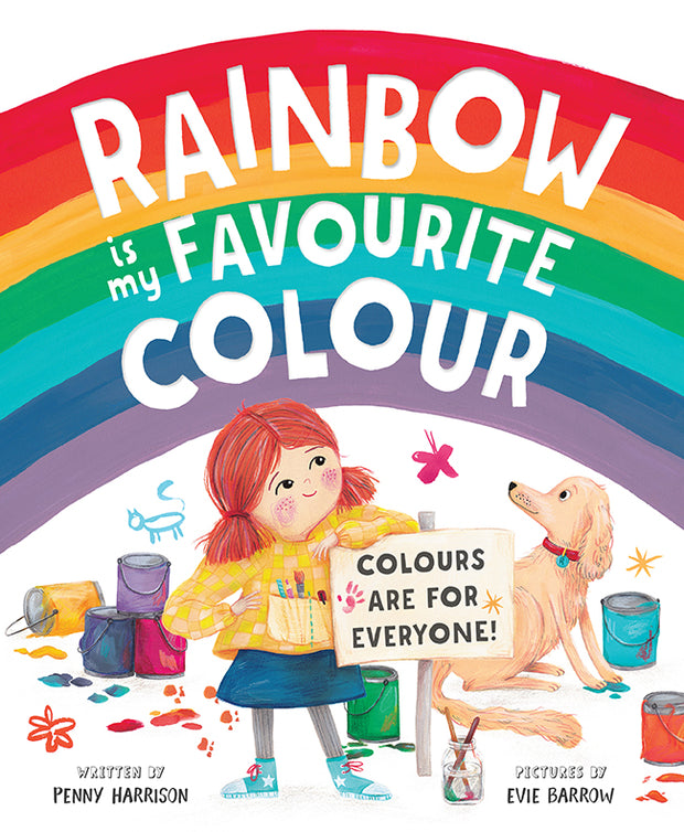 Rainbow is My Favourite Colour By Penny Harrison