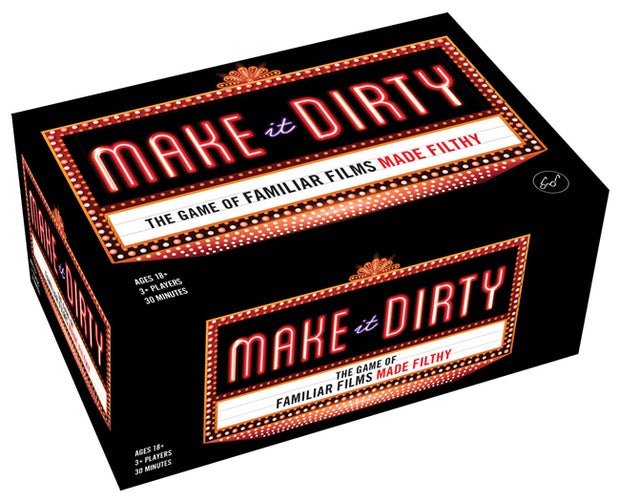 Make It Dirty: The Game of Familiar Films Made Filthy