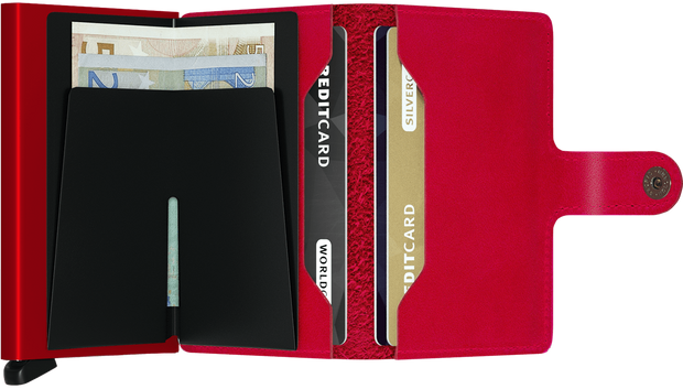 Secrid Miniwallet - Original Red