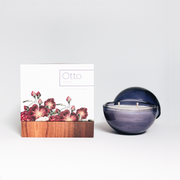 Only Orb -  Violet Glass Orb + Otto Candle