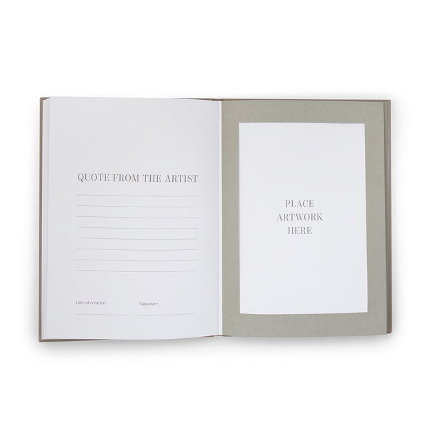 Printworks - Frame Book Great Art - Grey