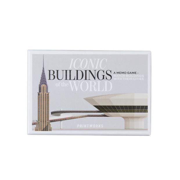 Printworks - Memory Game Famous Buildings