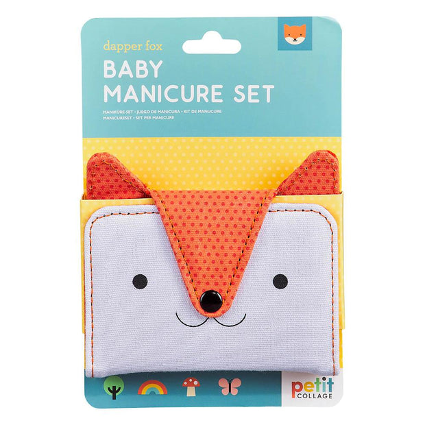 Petit Collage - Baby Fox Manicure Set