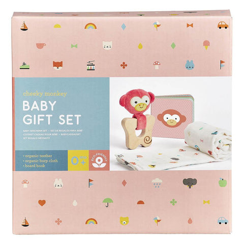 Petit Collage - Little Monkey Gift Set