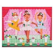 Petit Collage - Double Sided On-The-Go Ballerina Puzzle