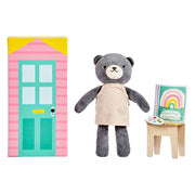 Petit Collage - Beatrice The Bear Animal Play Set