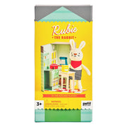 Petit Collage - Rubie The Rabbit Animal Play Set