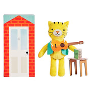 Petit Collage - Theodore The Tiger Animal Play Set