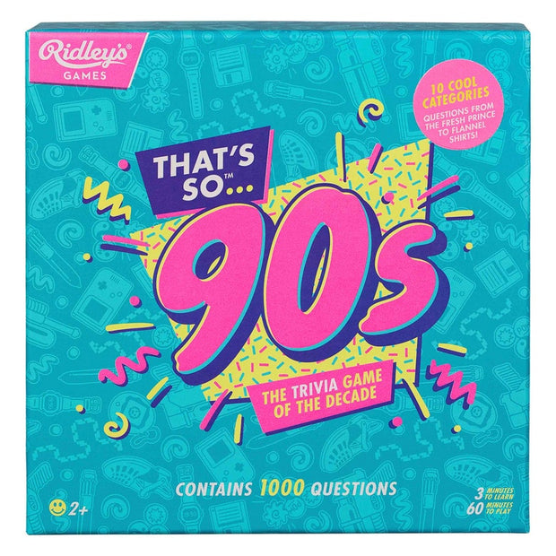 Ridley's That's So 90's Quiz