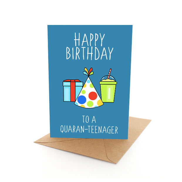 Quaranteenager Card