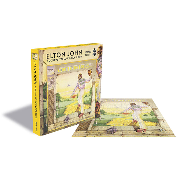 Elton John – Goodbye Yellow Brick Road 500pc Puzzle
