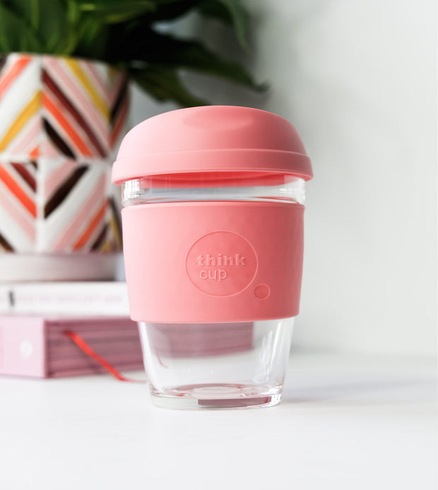 Think Cup 12 Oz - Rose