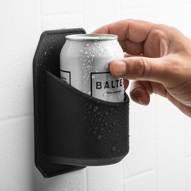 Tooletries - Shower Drink Holder - Charcoal