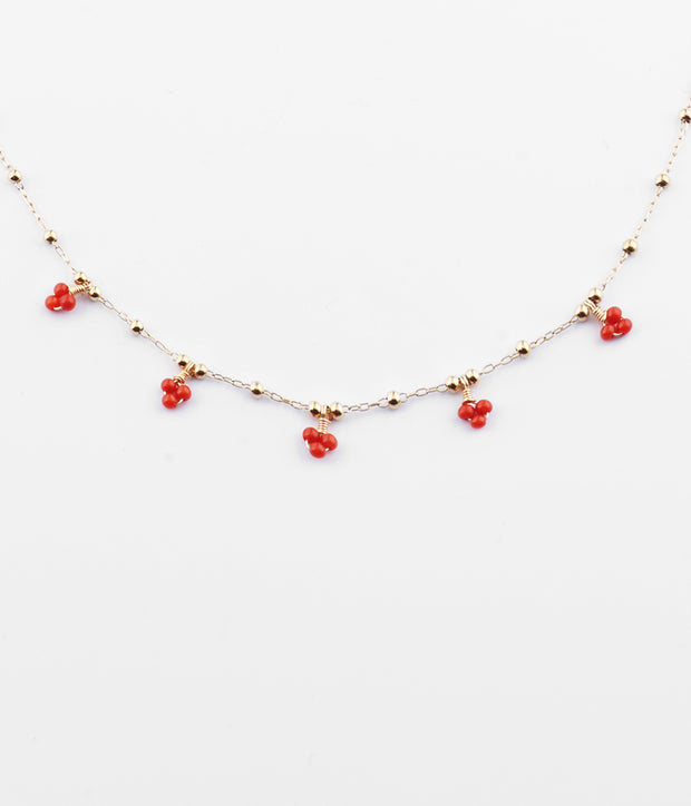 Zag Bijoux - Gaïa Necklace - Coral