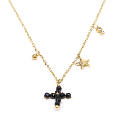 Zag Bijoux - Delphine Necklace - Black