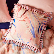 Kip & Co - Marble Magic Velvet Tassel Cushion