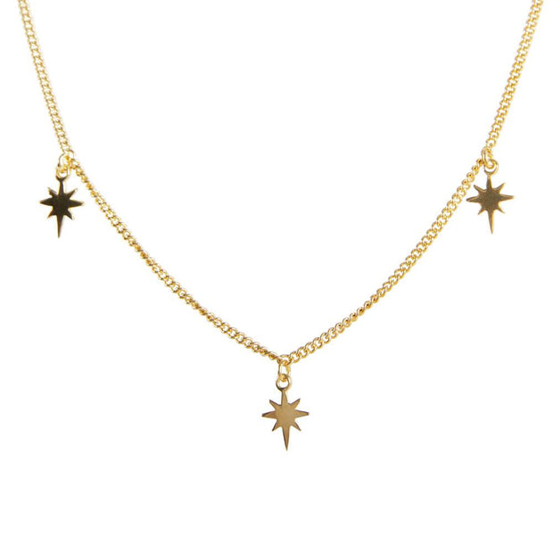 Fairley - Starlight Charm Necklace - Gold