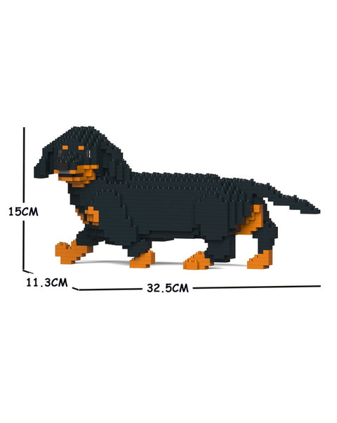 Jekca Building Blocks - Dachshund