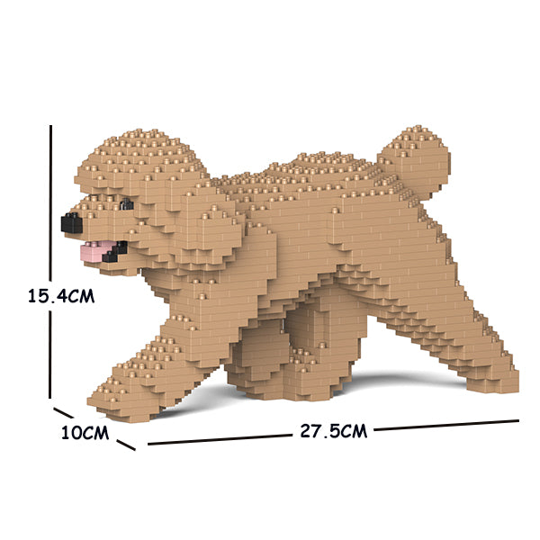 Jekca Building Blocks - Toy Poodle