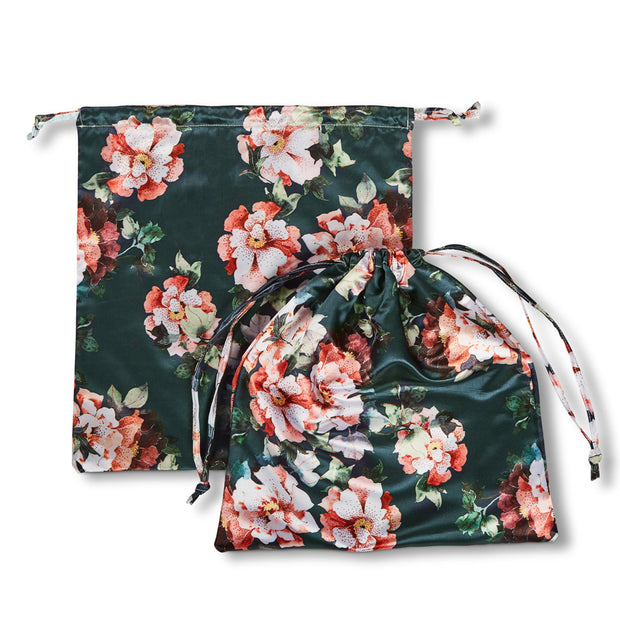 Sanctuary Studio Serenity Lingerie Bag Pond Blue Flora