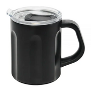Annabel Trends - The Big Mug Black Stainless Steel