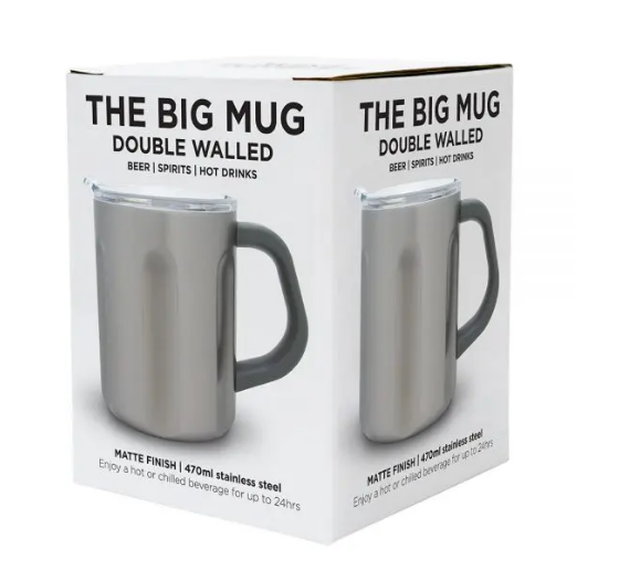 Annabel Trends - The Big Mug Titanium Stainless Steel